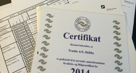 TRASBO certifikat 2014